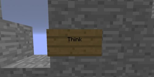 Think для Майнкрафт 1.12.2