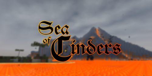 Sea Of Cinders для Майнкрафт 1.12.2