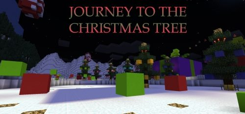 Journey To The Christmas Tree для Майнкрафт 1.12.2