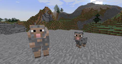 Ore Sheep для Майнкрафт 1.12.2