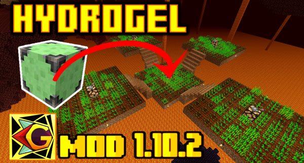 HydroGel для Майнкрафт 1.12.2