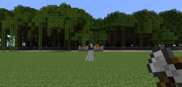 Dynamic Trees для Майнкрафт 1.12.2