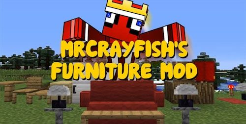 MrCrayfish's Furniture для Майнкрафт 1.12.2