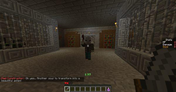 Deep in Dungeon для Майнкрафт 1.12.2