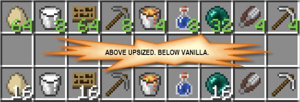Upsizer для Майнкрафт 1.12.2
