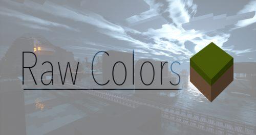 RawColors для Майнкрафт 1.12.2