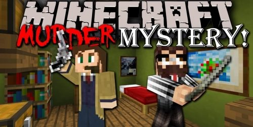 Mystery Murder для Майнкрафт 1.12.2