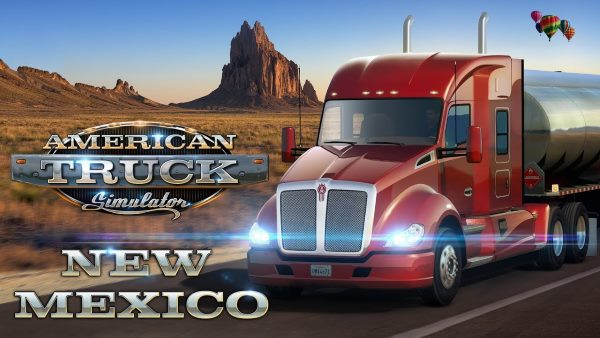 NoDVD для American Truck Simulator: New Mexico v 1.29.1.17