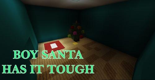Boy Santa Has It Tough для Майнкрафт 1.12.2