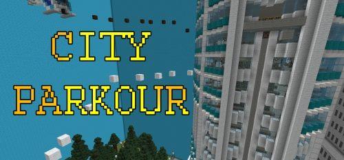 City Parkour для Майнкрафт 1.12.2