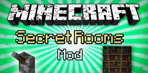 Secret Rooms для Майнкрафт 1.12.2