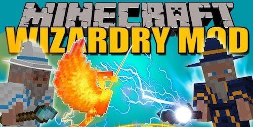 Wizardry для Майнкрафт 1.12.2