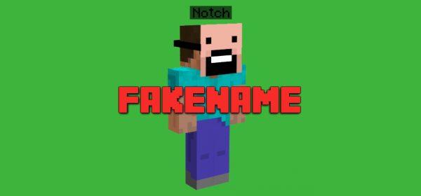 Fakename для Майнкрафт 1.12.2