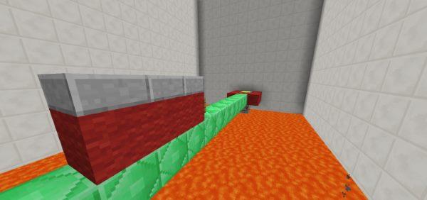 Sprint Lava Parkour 3 для Майнкрафт 1.12.2