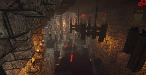 Castle Blackthorn для Майнкрафт 1.12.2