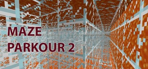 Maze Parkour 2 для Майнкрафт 1.12.2