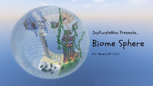 Biome Sphere Parkour для Майнкрафт 1.12.2