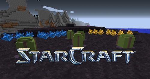 StarCraft для Майнкрафт 1.10.2