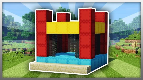 MrCrayfish's Jumping Castle для Майнкрафт 1.12.2