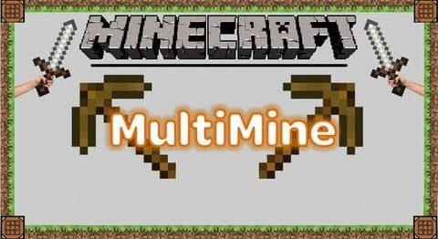 Multi Mine для Майнкрафт 1.12.2