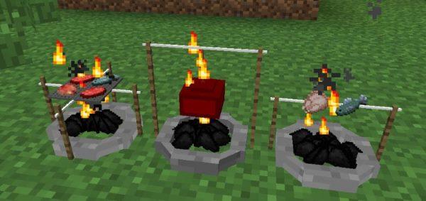 The Camping для Майнкрафт 1.12.2