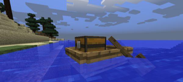 Storage Boats для Майнкрафт 1.12.2