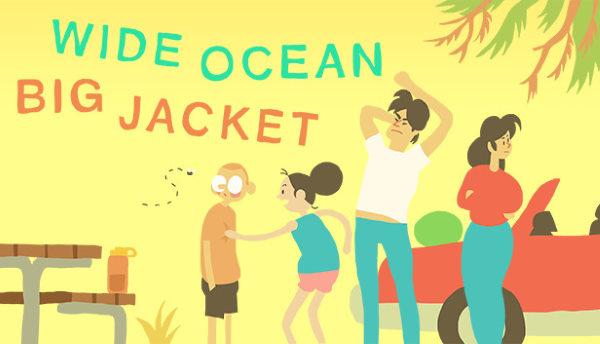 Сохранение для Wide Ocean Big Jacket (100%)