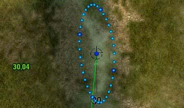 Синее сведение для арт для World Of Tanks 0.9.16